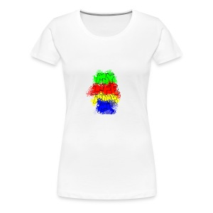 Den Officielle My Life With Minecraft Logo - Dame premium T-shirt