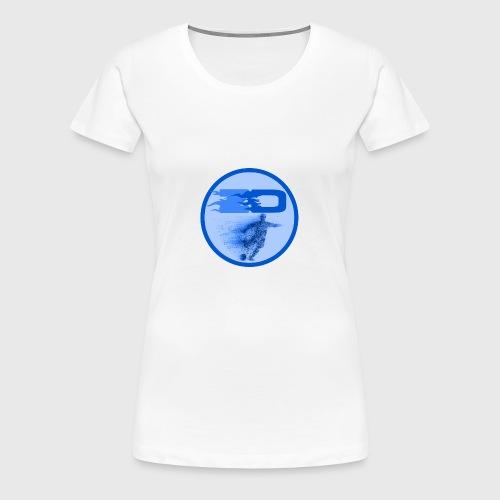 JR Footballers Logo Round - Women's Premium T-Shirt