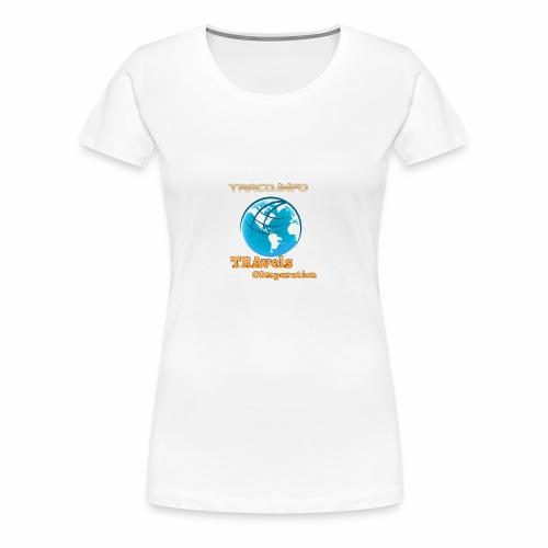 TRAvels Comparation - Maglietta Premium da donna