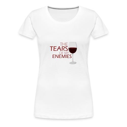 tears of my enemies - Koszulka damska Premium