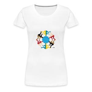 AANEEN_Zonder_Letters - Vrouwen Premium T-shirt