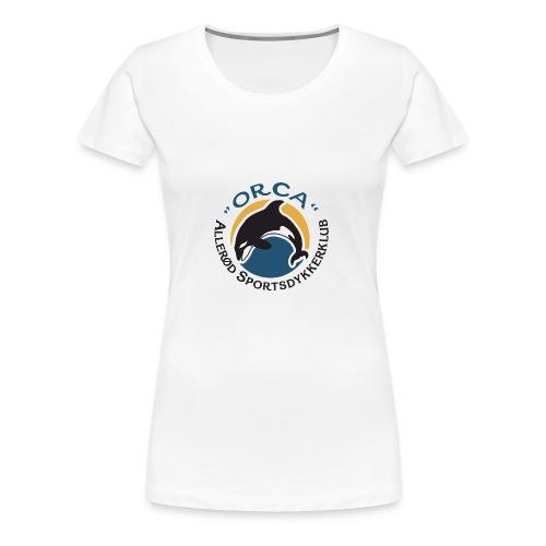 Lille Logo - Dame premium T-shirt