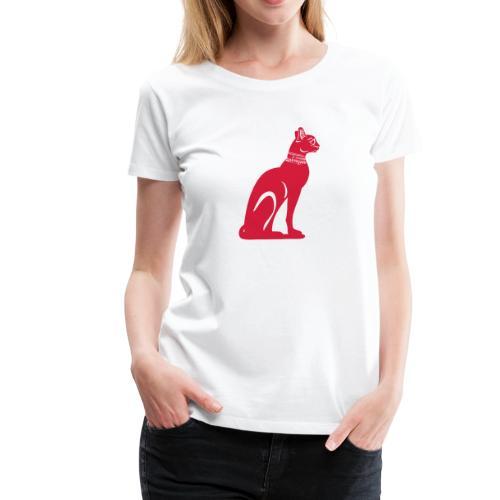 Altägyptische Katze BASTET - Frauen Premium T-Shirt