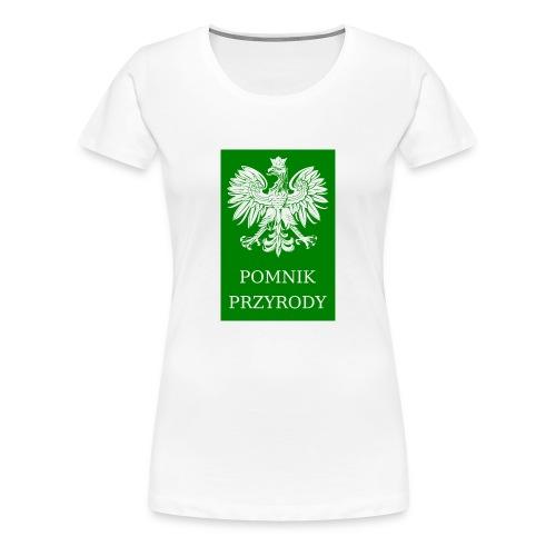 POL_Pomnik_Przyrody-svg - Koszulka damska Premium