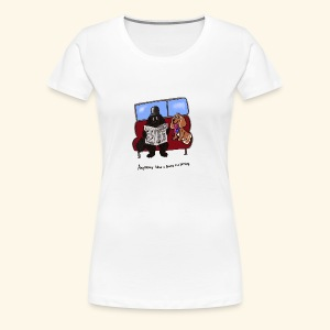Socks and shares - Women's Premium T-Shirt