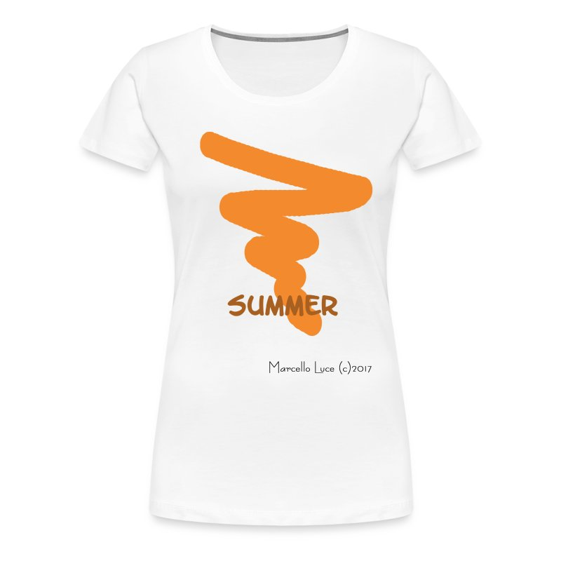 Streetworker Art by Marcello Luce - Summer 2017 - Frauen Premium T-Shirt