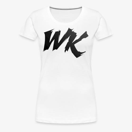 WK black - Women's Premium T-Shirt