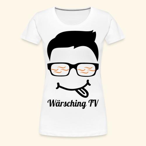 Logo WaerschingTV - Frauen Premium T-Shirt