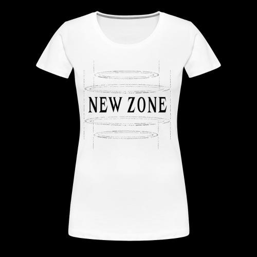NEW ZONE - Women's Premium T-Shirt