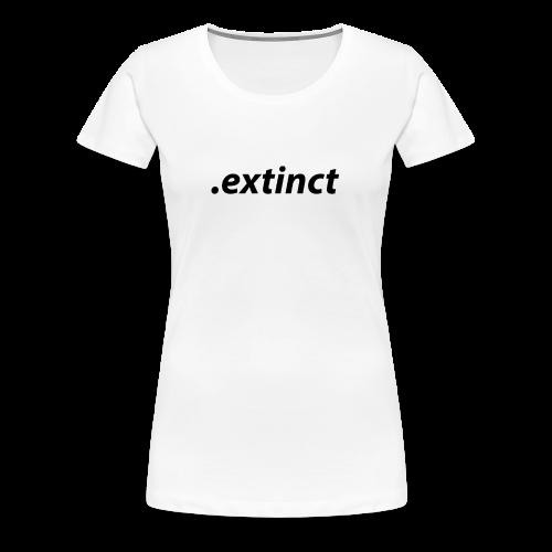 extinct3 0 - Premium-T-shirt dam