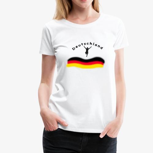 Fussball WM Weltmeisterschaft - Frauen Premium T-Shirt