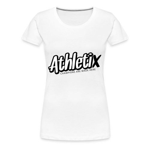 Athletix Logo 2 Druckdatei - Frauen Premium T-Shirt