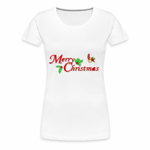 -Merry Christmas- - Frauen Premium T-Shirt