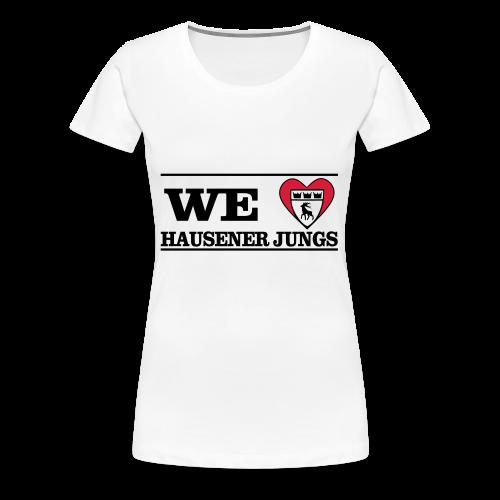 LOVEHausener - Frauen Premium T-Shirt