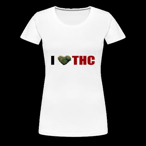 I love THC - Frauen Premium T-Shirt