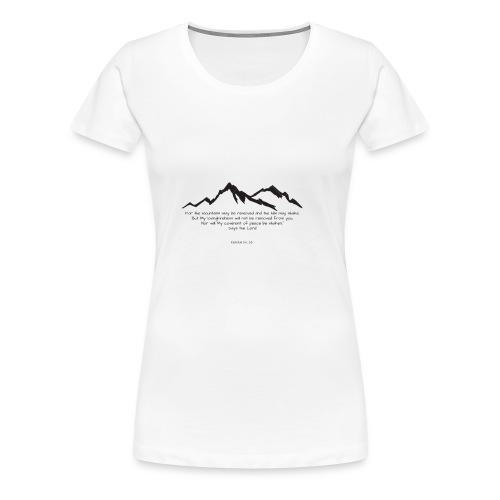 góry mogą ustąpić eng bez tła - Koszulka damska Premium