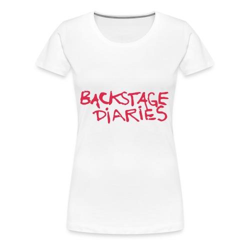 BD Logo - Frauen Premium T-Shirt