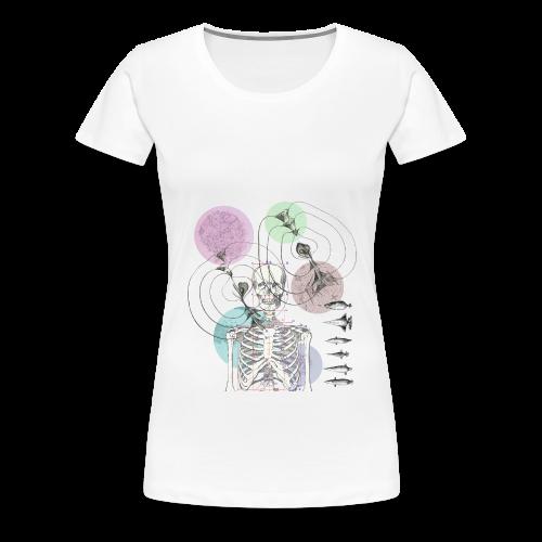 squeletto - T-shirt Premium Femme