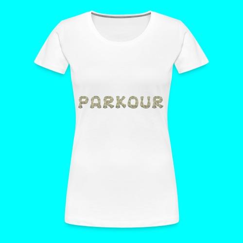 Freerunning motiv - Premium-T-shirt dam