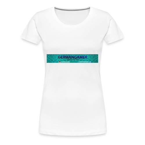 GERMANGAMER /NEW/ Collection - Frauen Premium T-Shirt