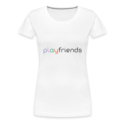 playfriends1 - Frauen Premium T-Shirt
