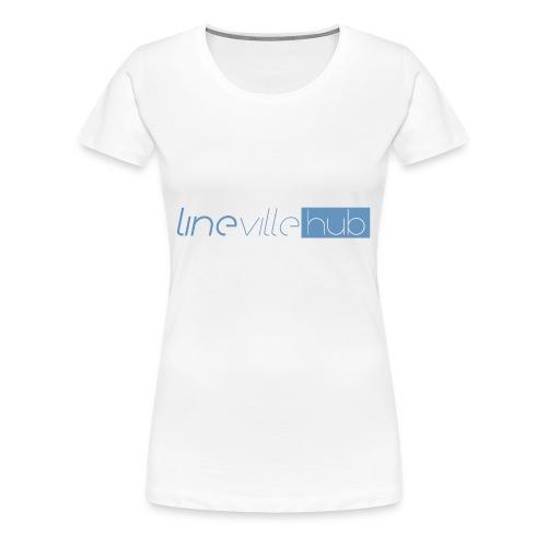 LINEVILLEHUB - Maglietta Premium da donna