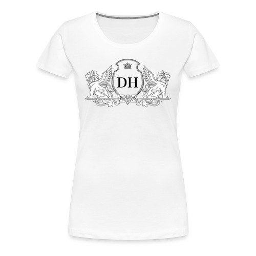 DUTCH HΣRΔ™️ Shield - Vrouwen Premium T-shirt