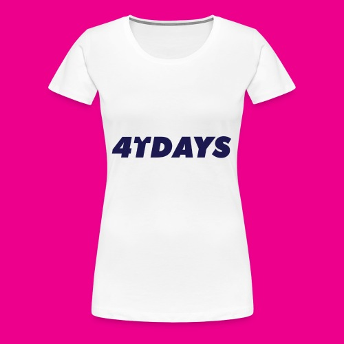 Original 4tdays logo - Vrouwen Premium T-shirt