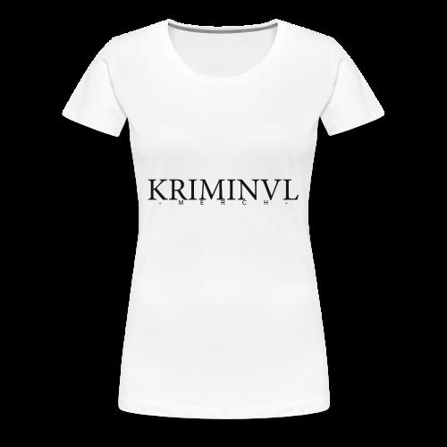 KRIMINVL'MERCH - Frauen Premium T-Shirt