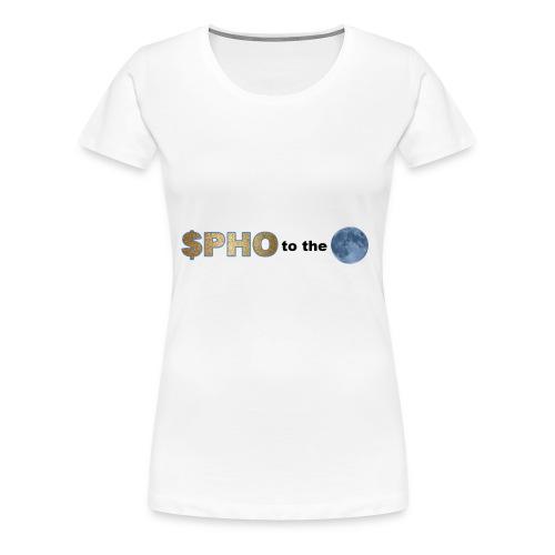 photo moon - Women's Premium T-Shirt
