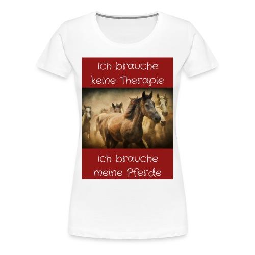 Pferde Tierfreunde, Geschenke, M50, s.unten - Frauen Premium T-Shirt