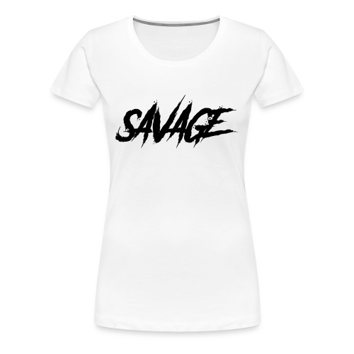 savage - Premium-T-shirt dam