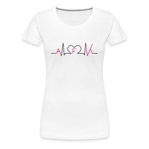 WE LOVE AFK SHIRT - Frauen Premium T-Shirt