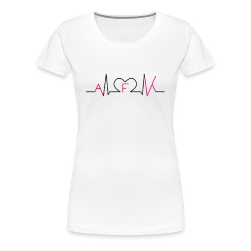 WE LOVE AFK SHIRT - Frauen Premium T-Shirt