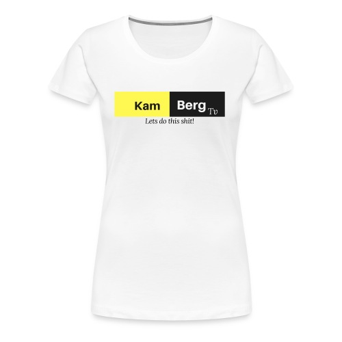 Der erste Kamberg TV Merch - Frauen Premium T-Shirt