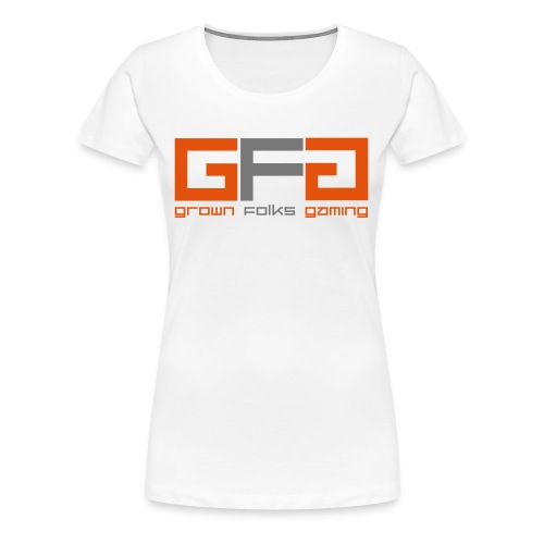 Grown Folks Gaming Official Tshirt - Women's Premium T-Shirt