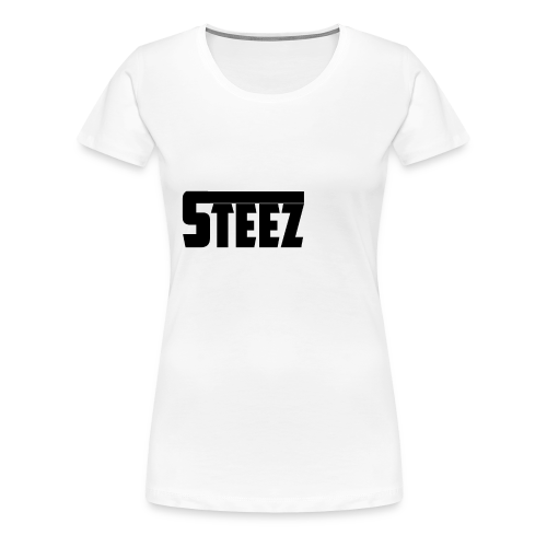 steez Logo white - Vrouwen Premium T-shirt