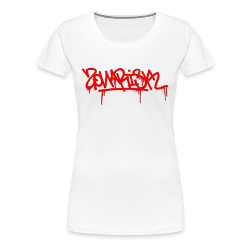 Zonarisk Logo Rouge - T-shirt Premium Femme