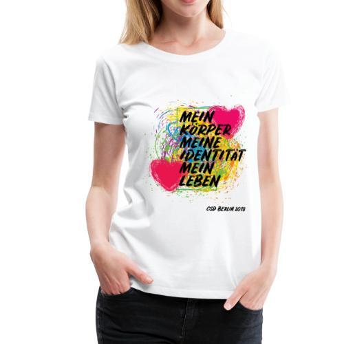 Motto CSD Berlin 2018 (deutsch) - Frauen Premium T-Shirt