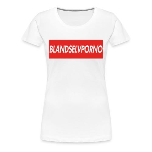 BLANDSELVPORNO RED EVOLUTION EDITION - Dame premium T-shirt