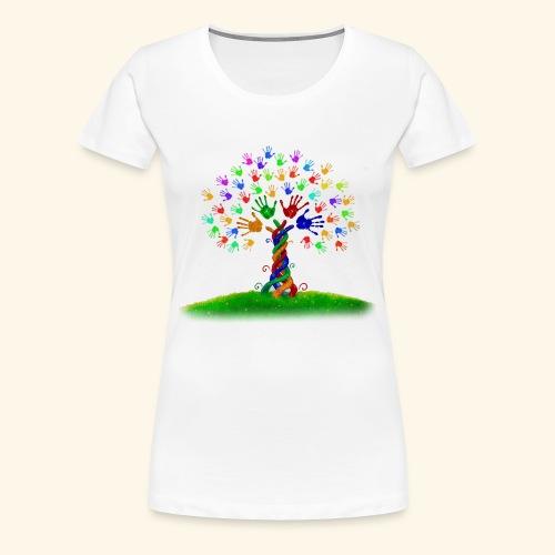 die lebendige Vielfalt - Frauen Premium T-Shirt