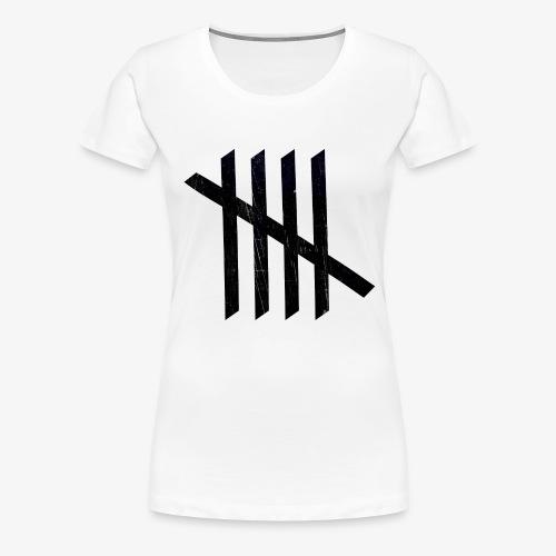 Nice logo - Dame premium T-shirt