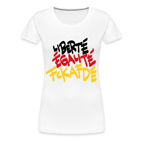 fckafd - Frauen Premium T-Shirt