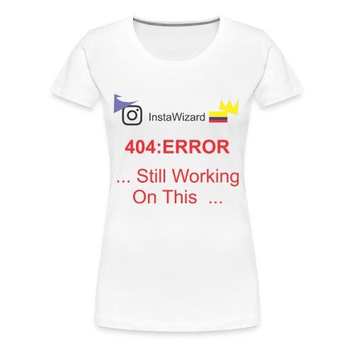 404 - Women's Premium T-Shirt