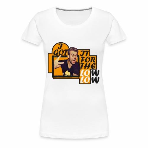 LOW1 - Maglietta Premium da donna
