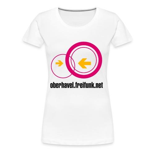 Freifunk Oberhavel - Frauen Premium T-Shirt