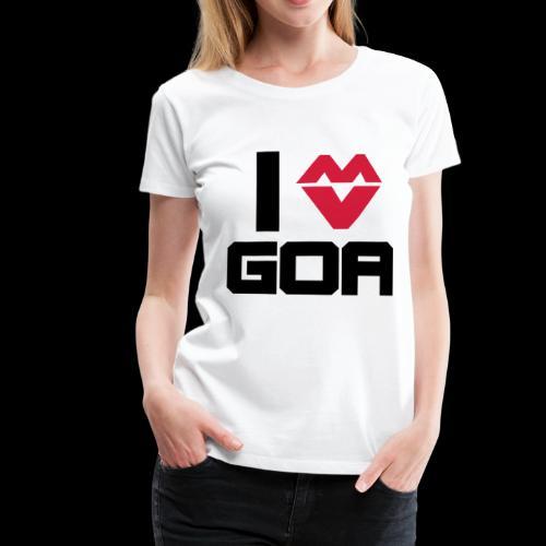 Goa Techno Festival Geschenk - Frauen Premium T-Shirt