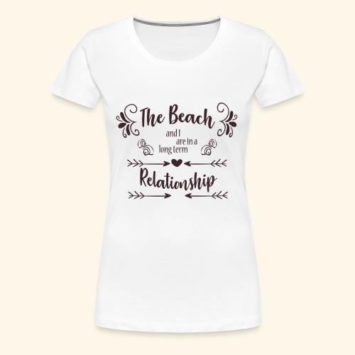 Beach Love - Vrouwen Premium T-shirt