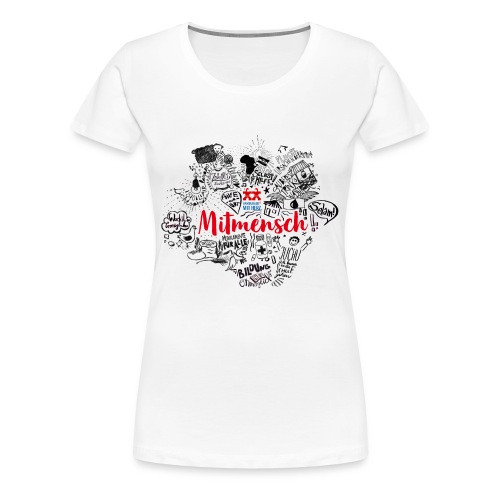 Mitmensch Mekerie - Frauen Premium T-Shirt