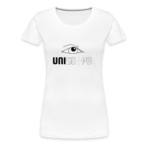 UNISCOPE - LOGO - Frauen Premium T-Shirt